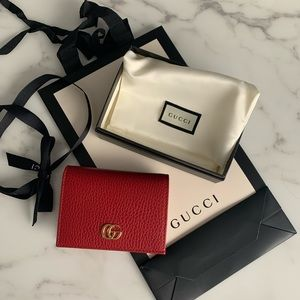 Brand New Gucci Women's Wallet Red